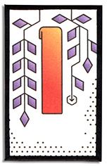 Heroku April wisteria card