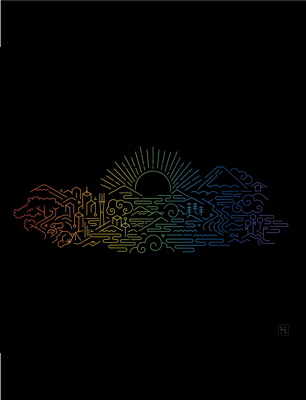 Heroku Electric Pride wallpaper